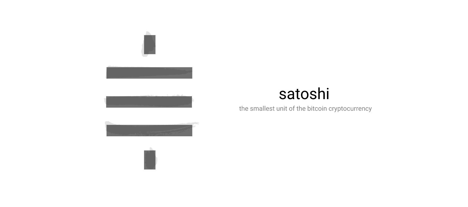 Simbolo do Satoshi